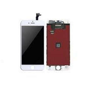 Vitre tactile blanc avec écran LCD pour iPhone 6