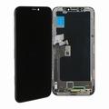 Vitre tactile noir avec écran LCD pour iPhone X